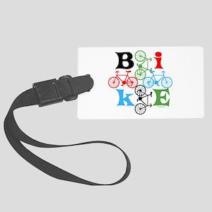 Four Bikes Large Luggage Tag