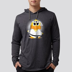 Karate-Duck Mens Hooded Shirt