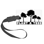 Plant Tree Large Luggage Tag
