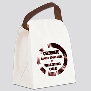 BanBookGold Canvas Lunch Bag
