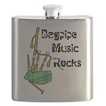 Bagpipe Music Rocks Flask
