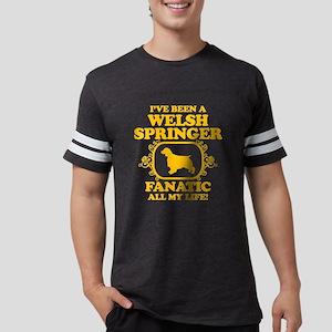 4-Welsh-Springer-Spaniel Mens Football Shirt