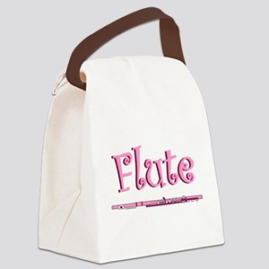 Pink Flute Canvas Lunch Bag
