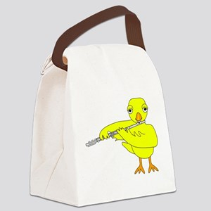 Flute Chick Canvas Lunch Bag