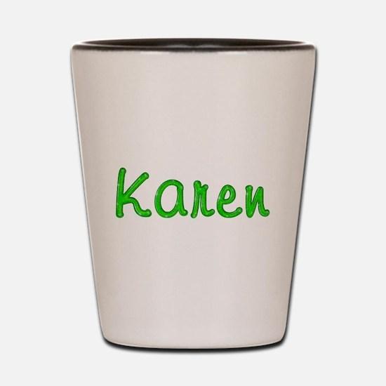 Karen Glitter Gel Shot Glass