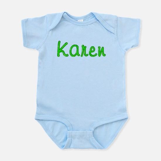 Karen Glitter Gel Infant Bodysuit