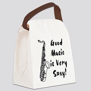 Saxy Canvas Lunch Bag