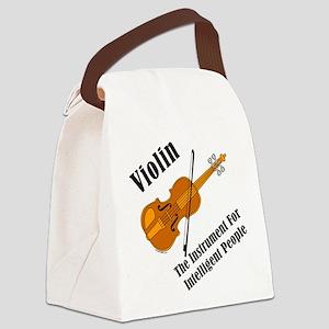ViolinIntellBUMP Canvas Lunch Bag