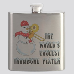 Coolest Trombone Flask