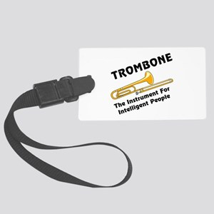 grayTromIntelBL Large Luggage Tag