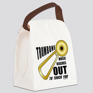 Trombone Touch Canvas Lunch Bag
