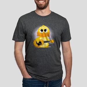 Guitar-Duck Mens Tri-blend T-Shirt