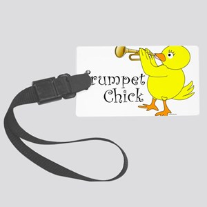 Trumpet Chick Large Luggage Tag