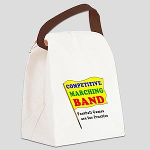 MarchBandT_notORN Canvas Lunch Bag