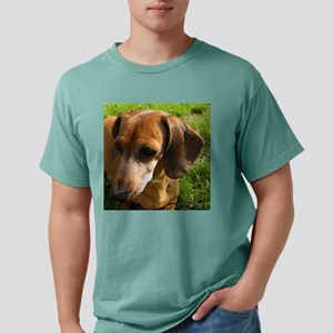 Dachshund-Tile Mens Comfort Colors Shirt