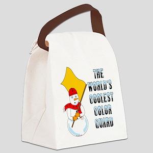 Coolest Color Guard Canvas Lunch Bag