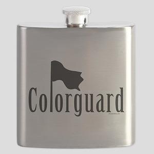 grayHornPop5BL Flask
