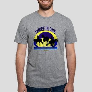 3in1-logo Mens Tri-blend T-Shirt