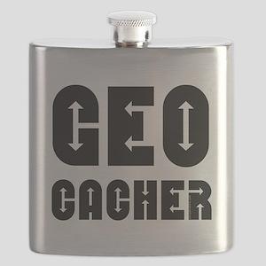 Geocacher Arrows Flask