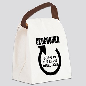 Right Direction Canvas Lunch Bag