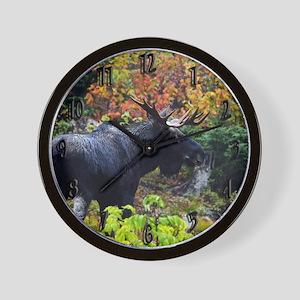 Bull from fight Wall Clock