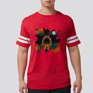 BloodhoundHalloweenShirt1 Mens Football Shirt
