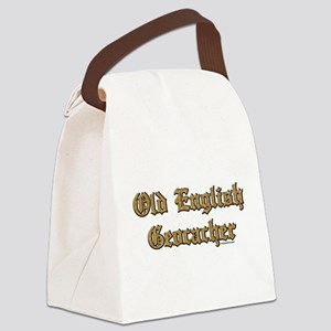 OldEnglGeoVER Canvas Lunch Bag