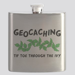 Poison Ivy Flask