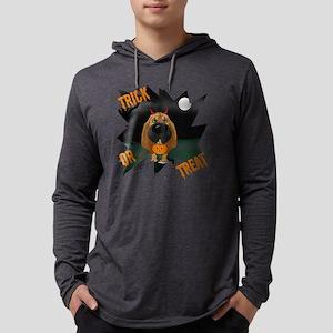 BloodhoundHalloweenShirt1 Mens Hooded Shirt