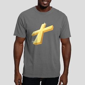 Religious Cross Mens Comfort Colors Shirt