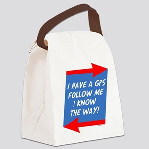 Follow Me Canvas Lunch Bag