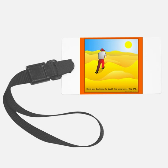 GPS Uncertainty Luggage Tag