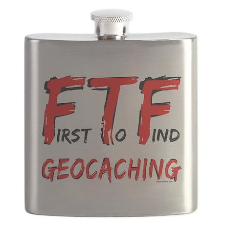 FTF Geocaching Flask