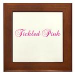Tickled Pink Framed Tile