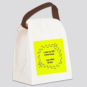 NotHomeMUGyel Canvas Lunch Bag