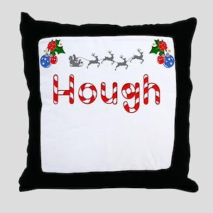 Hough, Christmas Throw Pillow