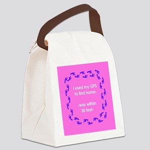NotHomeTILEyel Canvas Lunch Bag