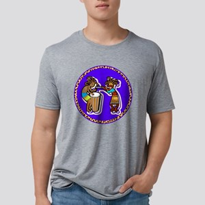 vLeopard Koko tunes Mens Tri-blend T-Shirt
