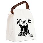 April 15 Canvas Lunch Bag