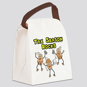 Tax Season Rocks Canvas Lunch Bag