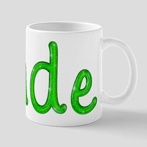 Jude Glitter Gel Mug