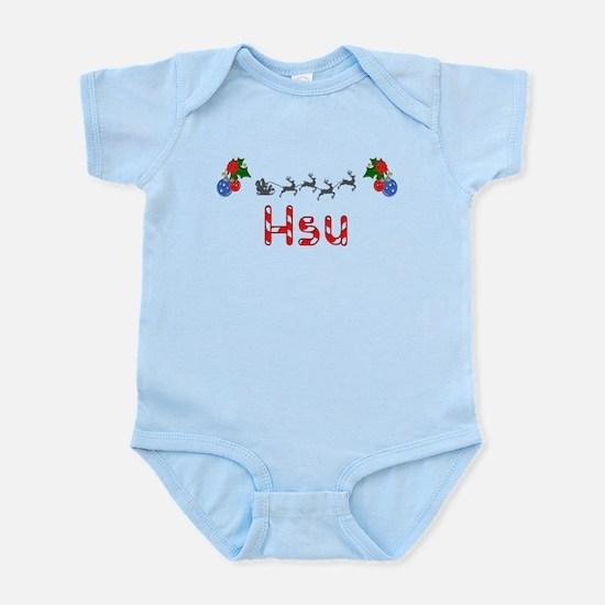 Hsu, Christmas Infant Bodysuit