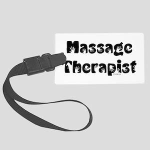 Massage Therapist Large Luggage Tag