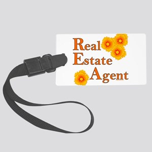 Real Estate Agent Large Luggage Tag
