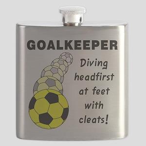Soccer Goalkeeper Flask
