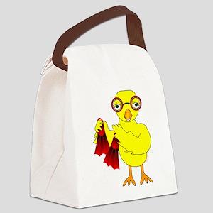 Swim Chick Canvas Lunch Bag