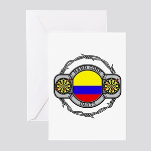 Colombia Darts Greeting Cards (Pk of 10)
