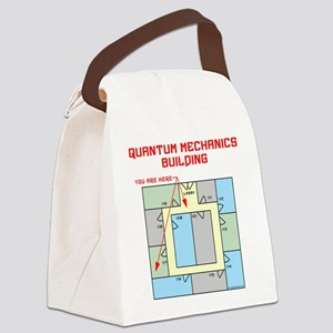 Quantum Mechanics Building Canvas Lunch Bag