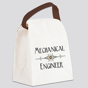Mechanical Engineer Line Canvas Lunch Bag