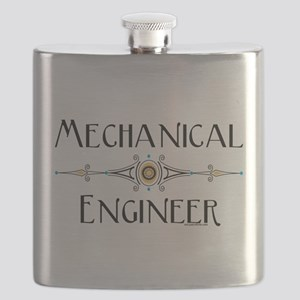 Mechanical Engineer Line Flask